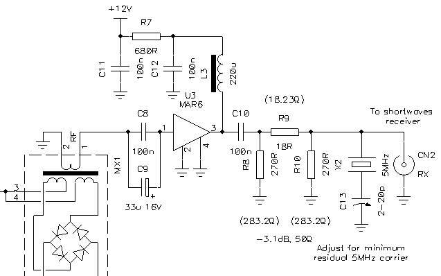 an up converter for receiving long and very long waves rh giangrandi ch Tl070 Preamplifier Circuit Tl070 Preamplifier Circuit