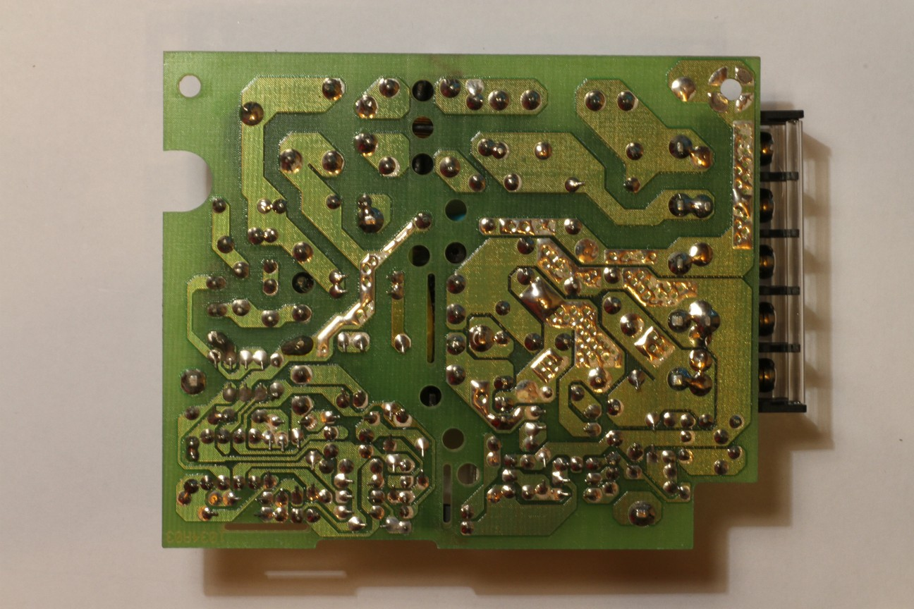 Troubleshooting Switch Mode Power Supplies Testing Circuit Board Components No On The Bottom Side Of Pcb For This Smps