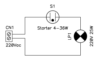 Circuit Diagram Of The Blinker