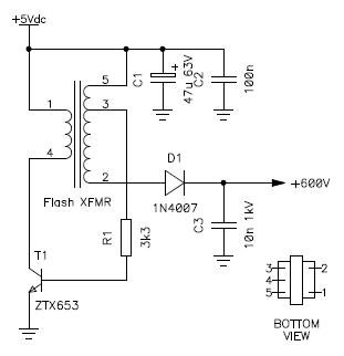 high voltage generator design before adding voltage regulation