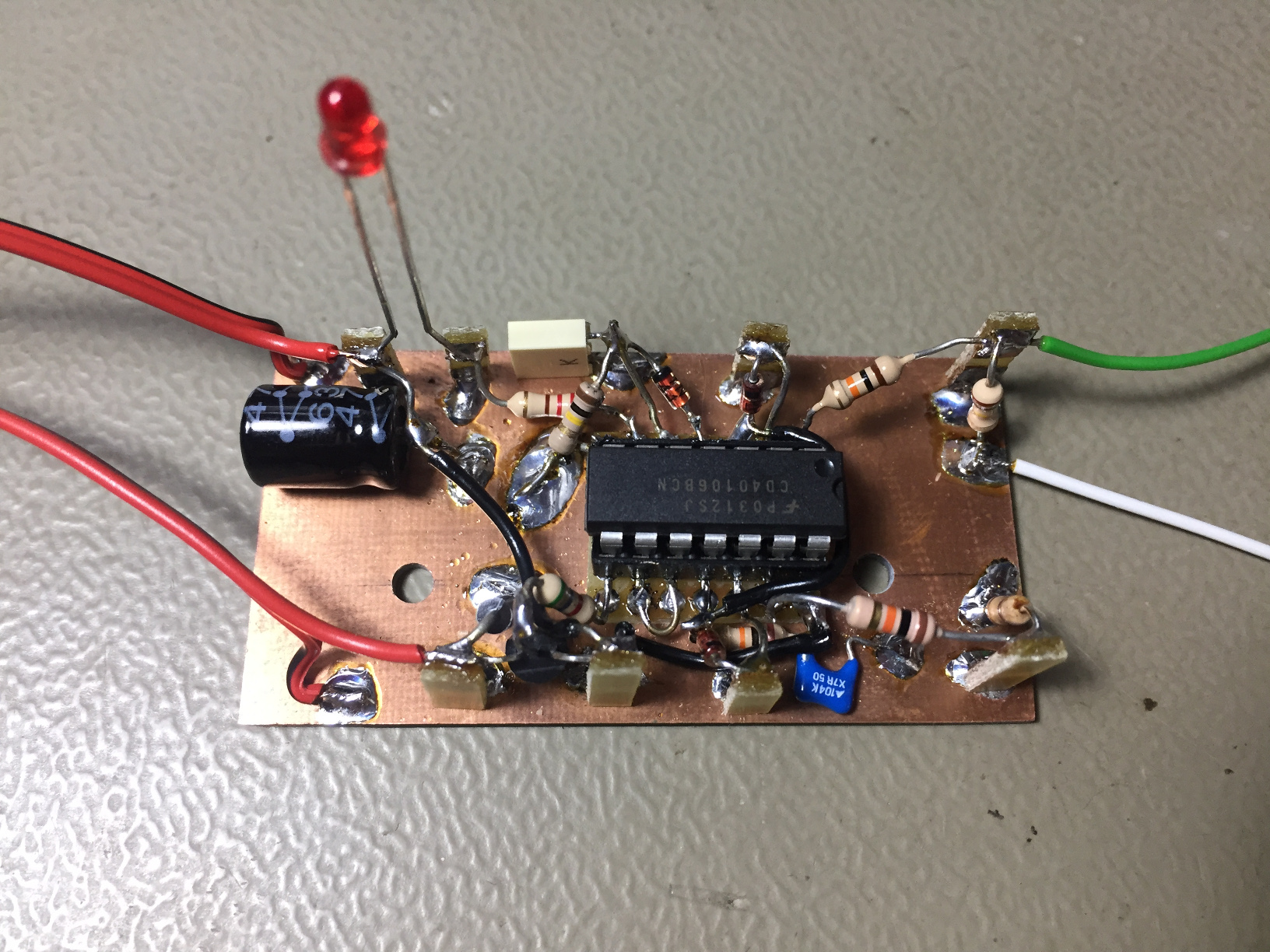 A Twin Tube Geiger Counter Electronic Thermometer Circuit Expert Circuits Picture Of The Pulse Amplifier Module Click To Enlarge