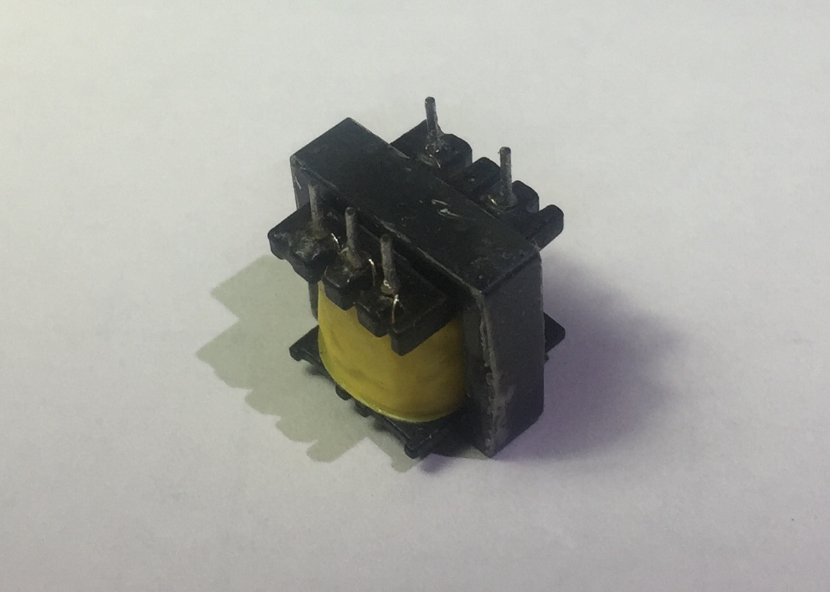 A Twin Tube Geiger Counter Colorsensorcircuit Light Sensor Circuitclick For Next Circuit Picture Of The Transformer Used In This Click To Enlarge