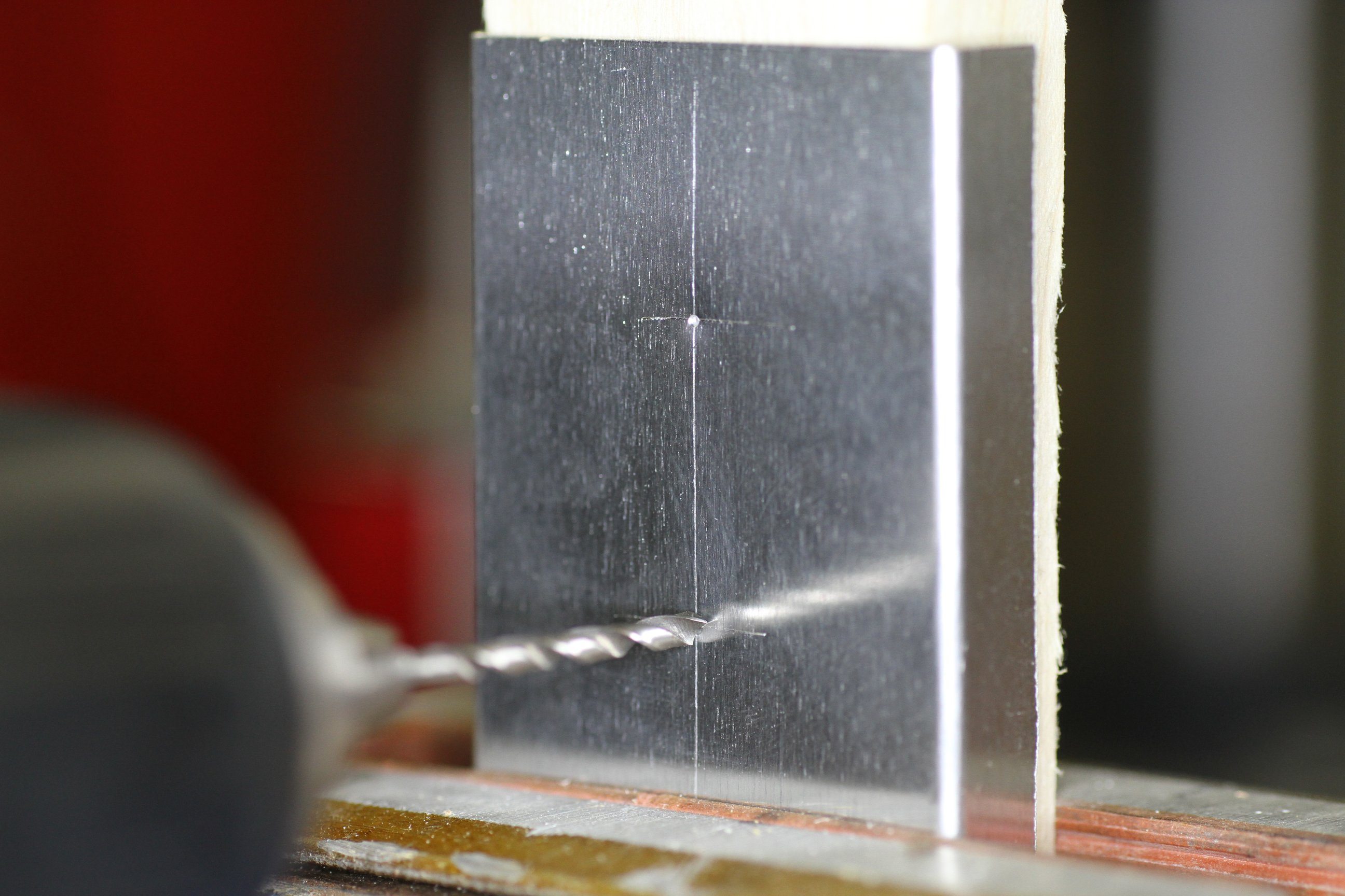 How To Drill Large Holes In Sheet Metal