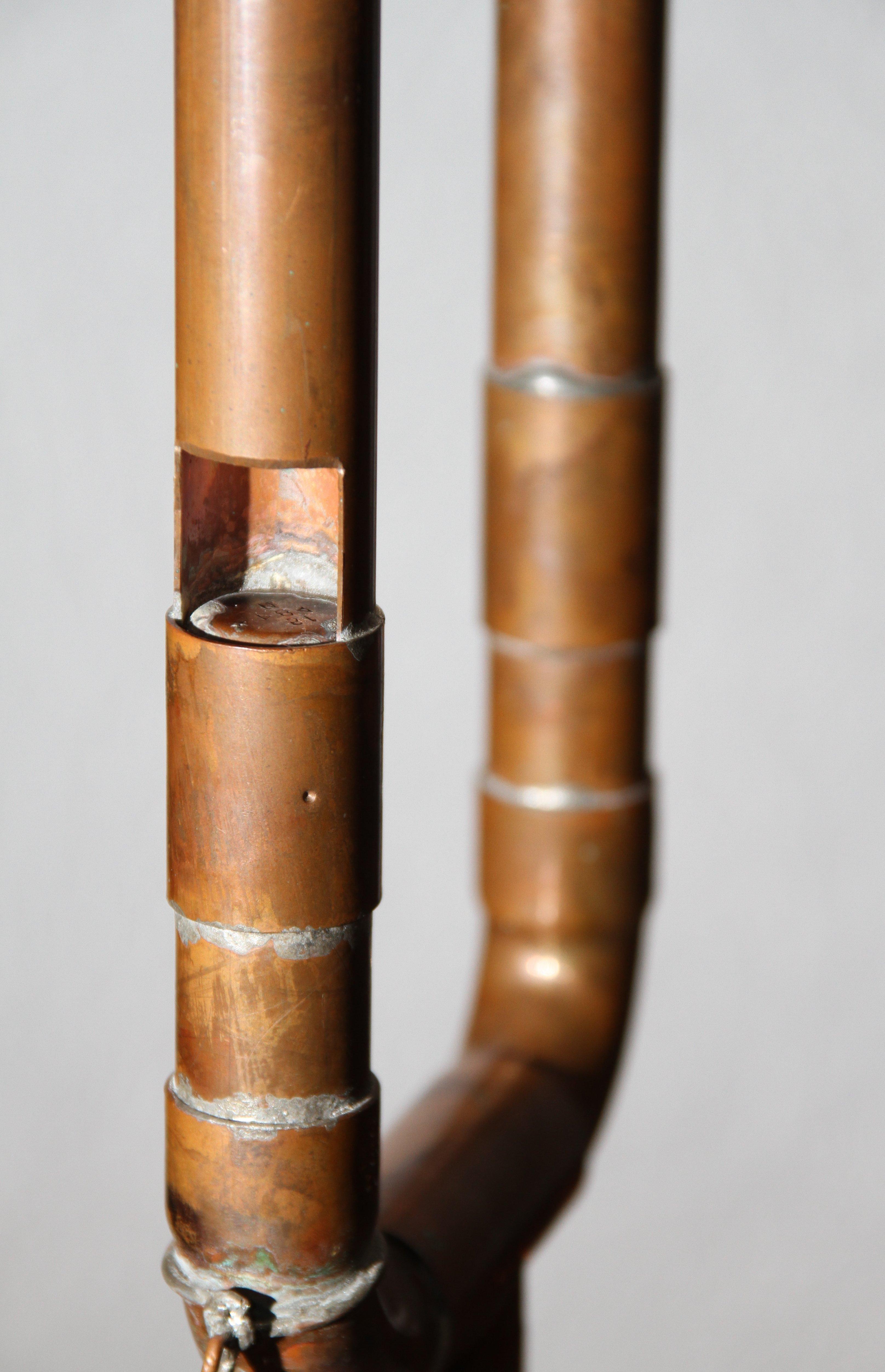 A steam whistle