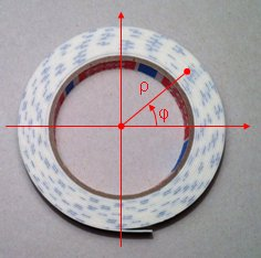 Roll length calculator